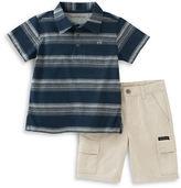 Calvin Klein Two-Piece Polo and Shorts Set