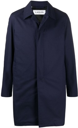 Lanvin Single-Breasted Midi Coat