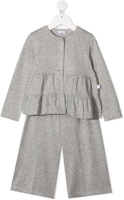 Il Gufo Two-Piece Cardigan Set