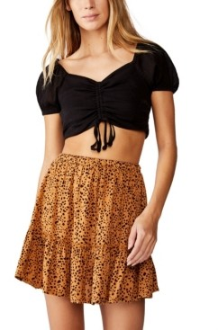 Cotton On Penny Tiered Mini Skirt