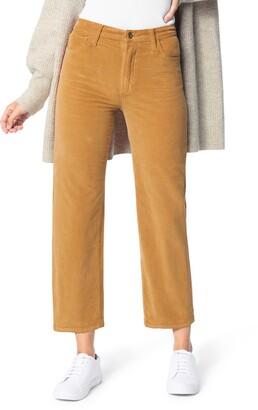 Joe's Jeans The Blake High Waist Crop Wide Leg Corduroy Jeans