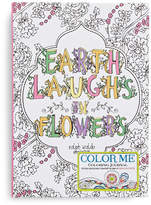 Gibson Books Earth Laughs in Flowers Colouring Journal