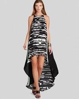 BCBGMAXAZRIA Dress - Malisa Color Block Print