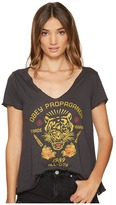 Obey Kiss Me Deadly Tiger Tee Women's T Shirt