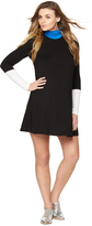 A Pea in the Pod Bcbg Max Azria Colorblock Turtleneck Maternity Dress
