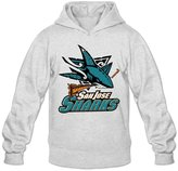 Sofia Men's San Jose Sharks Western Conference Champions Hoodies M