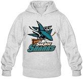 Sofia Men's San Jose Sharks Western Conference Champions Hoodies S