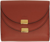 Chloé Red Square Georgia Wallet