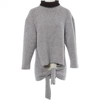 Balenciaga \N Silver Polyester Knitwear
