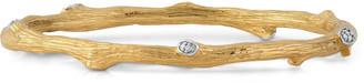 Michael Aram Enchanted Forest 18K Yellow Gold Diamond Bracelet