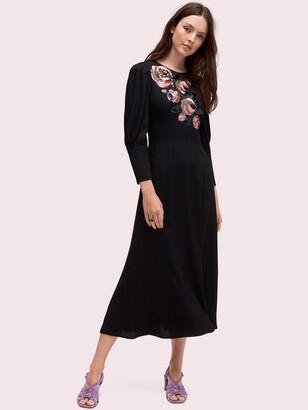 Kate Spade Sequin Embellished Midi Dress