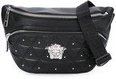 Versace Medusa triangle belt bag - men - Leather - One Size