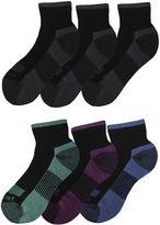 Dickies Womens 6-pk. Dri-Tech Comfort Quarter Socks
