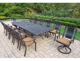 Oakland Living Vanguard 13 Piece Dining Set with Cushions Oakland Living