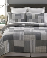 Martha Stewart Collection Martha Stewart Collection Salt & Pepper Twin Quilt