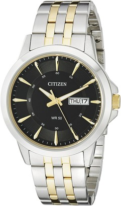 Citizen Men's Quartz Stainless Steel Watch with Day/Date BF2018-52E
