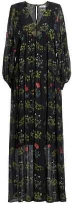 AILANTO Poppies Maxi Dress