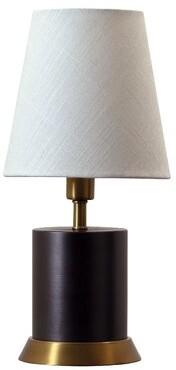 "Zoomie Kids Buhl 12"" Table Lamp Zoomie Kids Base Finish: Mahogany Bronze/Weathered Brass"