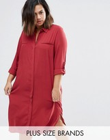 Junarose Plus Rea Shirt Dress