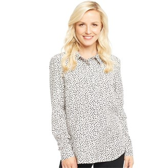 Onfire Womens All Over Print Shirt Black/White