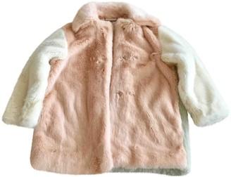 Stella McCartney Stella Mc Cartney Beige Faux fur Coat for Women