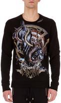 Balmain Rock n' Roll Logo Sweatshirt