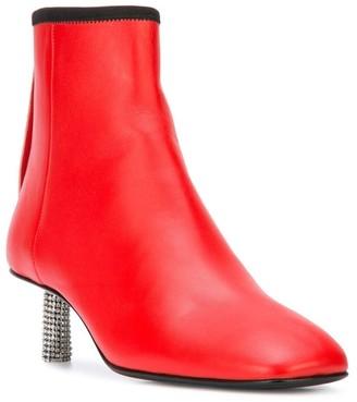 Calvin Klein Grainne Leather Ankle Boot