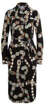 Thumbnail for your product : Lauren Ralph Lauren Ralph Lauren Belt-Print Jersey Shirtdress