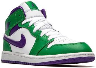 "Jordan Kids Jordan 1 Mid ""Hulk"" sneakers"