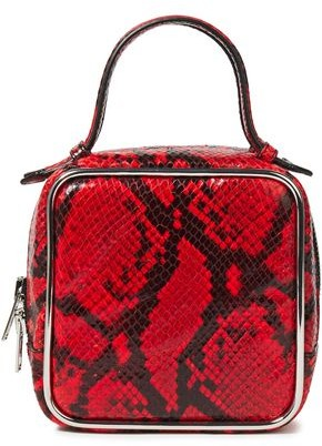 Alexander Wang Snake-effect Leather Tote