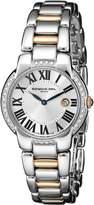 Raymond Weil Women's 5229-S5S-00659 Classy Analog Silver Dial Watch