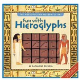 "Simon & Schuster fun With Hieroglyphs"""" By Metropolitan Museum Of Art And Catharine Roehrig."