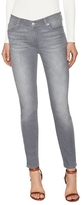 7 For All Mankind Squiggle Stitch Ankle Jean