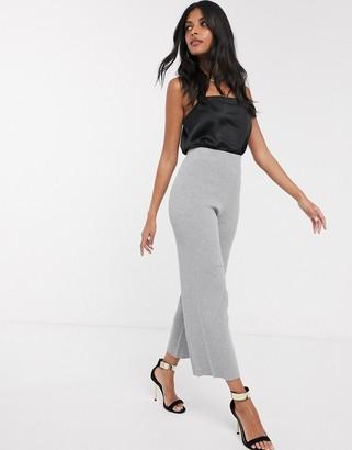 Fashion Union knitted wide leg pants