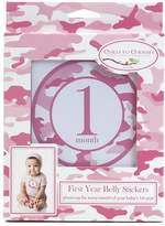 Child to Cherish Monthly Camo Belly Stickers