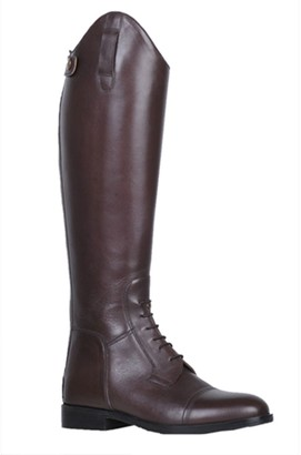 HKM Riding Boots Spain Soft Leather Short/Wide Men Reitstiefel -Spain- Softleder Kurz/Weit