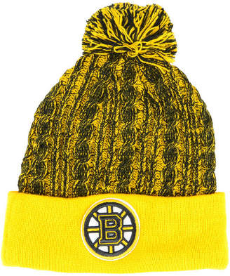 Authentic Nhl Headwear Women Boston Bruins Iconic Ace Knit Hat
