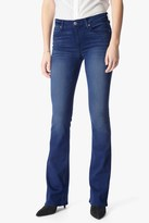 7 For All Mankind Slim Illusion Luxe Iconic Bootcut In Ocean Waves