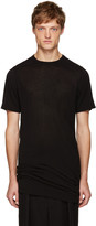Rick Owens Black Long T-Shirt