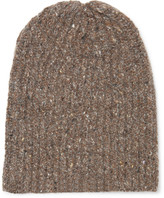 Inis Meáin - Ribbed Mélange Merino Wool And Cashmere-blend Beanie