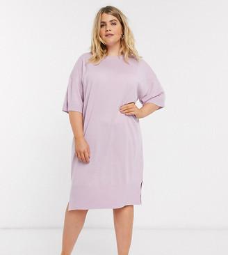 Micha Lounge Curve M Lounge Curve short sleeve midi dress
