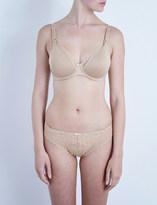 Chantelle Merci jersey and lace maternity bra