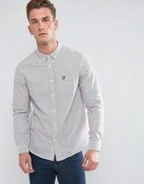 Lyle & Scott Tattersal Check Shirt White