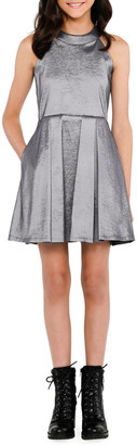 Sally Miller The Platinum Pocket Halter Dress, Size S-XL
