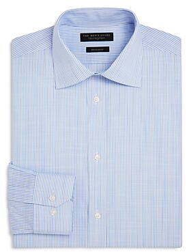The Men's Store at Bloomingdale's Candy Stripe Regular Fit Dress Shirt