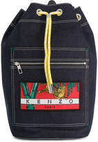 Kenzo logo patch backpack