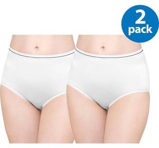 Best Fitting Panty Women's Seamless Brief Panties, 2-Pack
