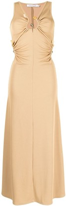 CHRISTOPHER ESBER Quartz rib tank dress