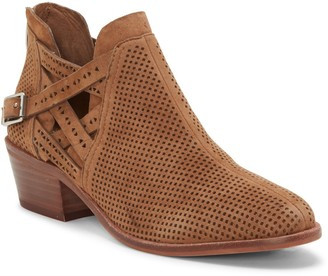 Vince Camuto Pranika Perforated Ankle Boot