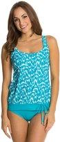 Beach House Swimwear Ocean Breeze Blouson Tank Bikini Top 8122481